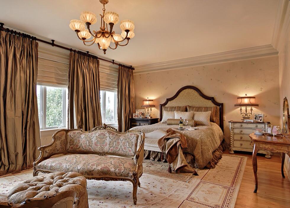 Спальни со шторами фото