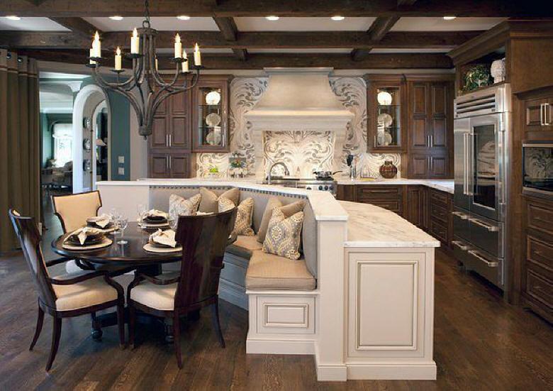 Кухонные интерьеры фото